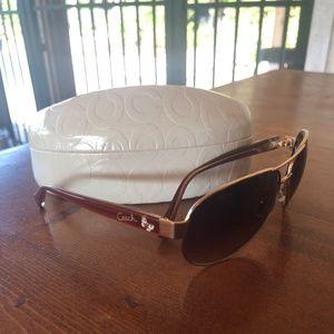 Coach Aviator Sunglasses